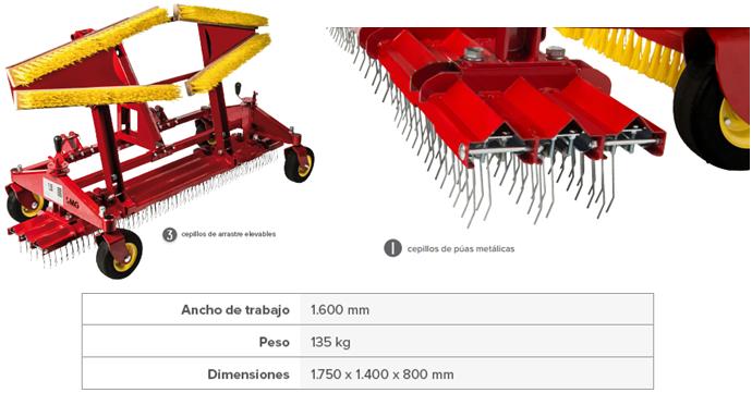 Herramientas para Mantenimiento de grama sintetica SportCourts Guatemala.