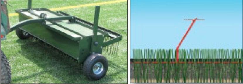 Mantenimiento de grama sintetica